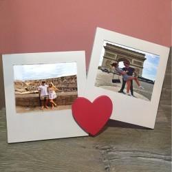 Ramă foto cu două poze