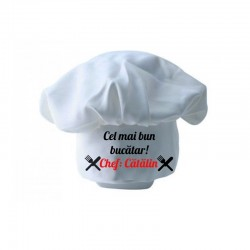 Bonetă bucătar personalizată