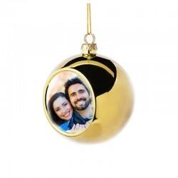 Glob foto personalizat 8cm,...