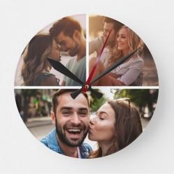 Ceas personalizat cu 3 poze