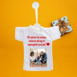 Mini tricou personalizat cu...
