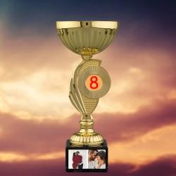 Trofeu personalizat cu două...