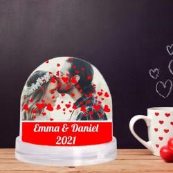 Glob foto personalizat cu 2...