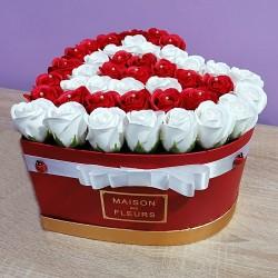 Trandafiri de săpun inimă,...