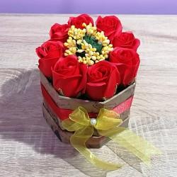 Buchet - 8 Trandafiri Rosii