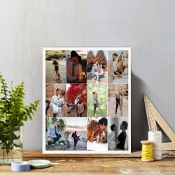 Tablou foto personalizat cu...