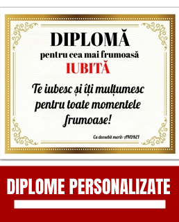 Diplome personalizate online