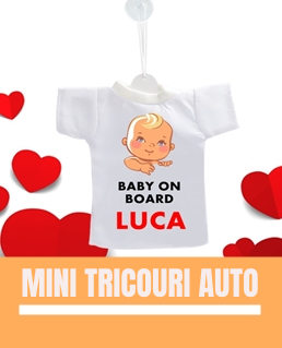 Mini tricouri personalizate
